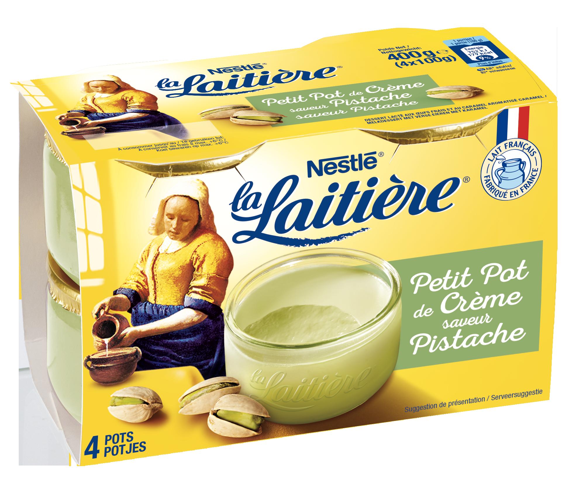 Petit pot de Crème Pistache