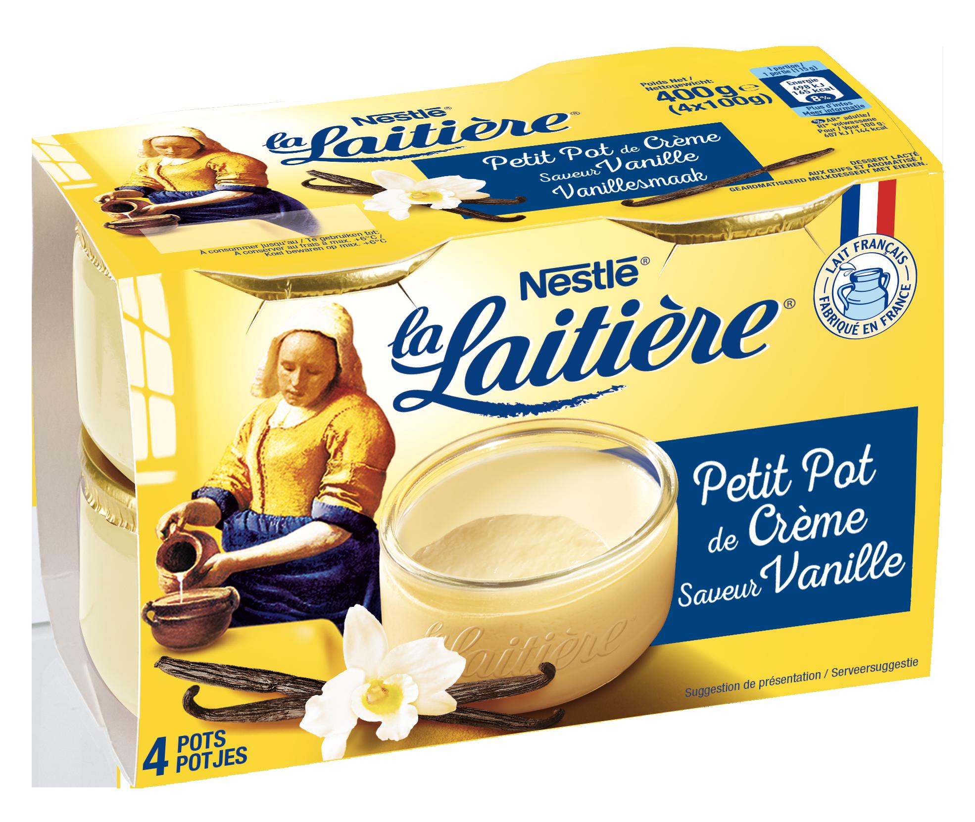 Petit pot de Crème Vanille