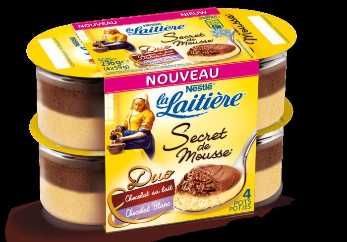 Chocolat au Lait - Chocolat Blanc