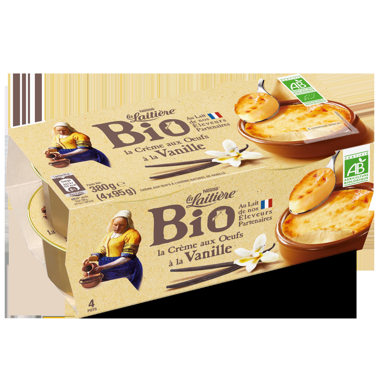 La Crème aux Œufs Vanille BIO