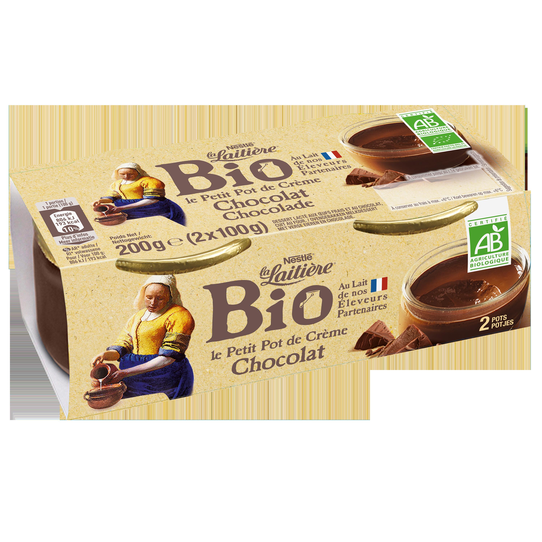 Le Petit Pot de Crème Chocolat Bio