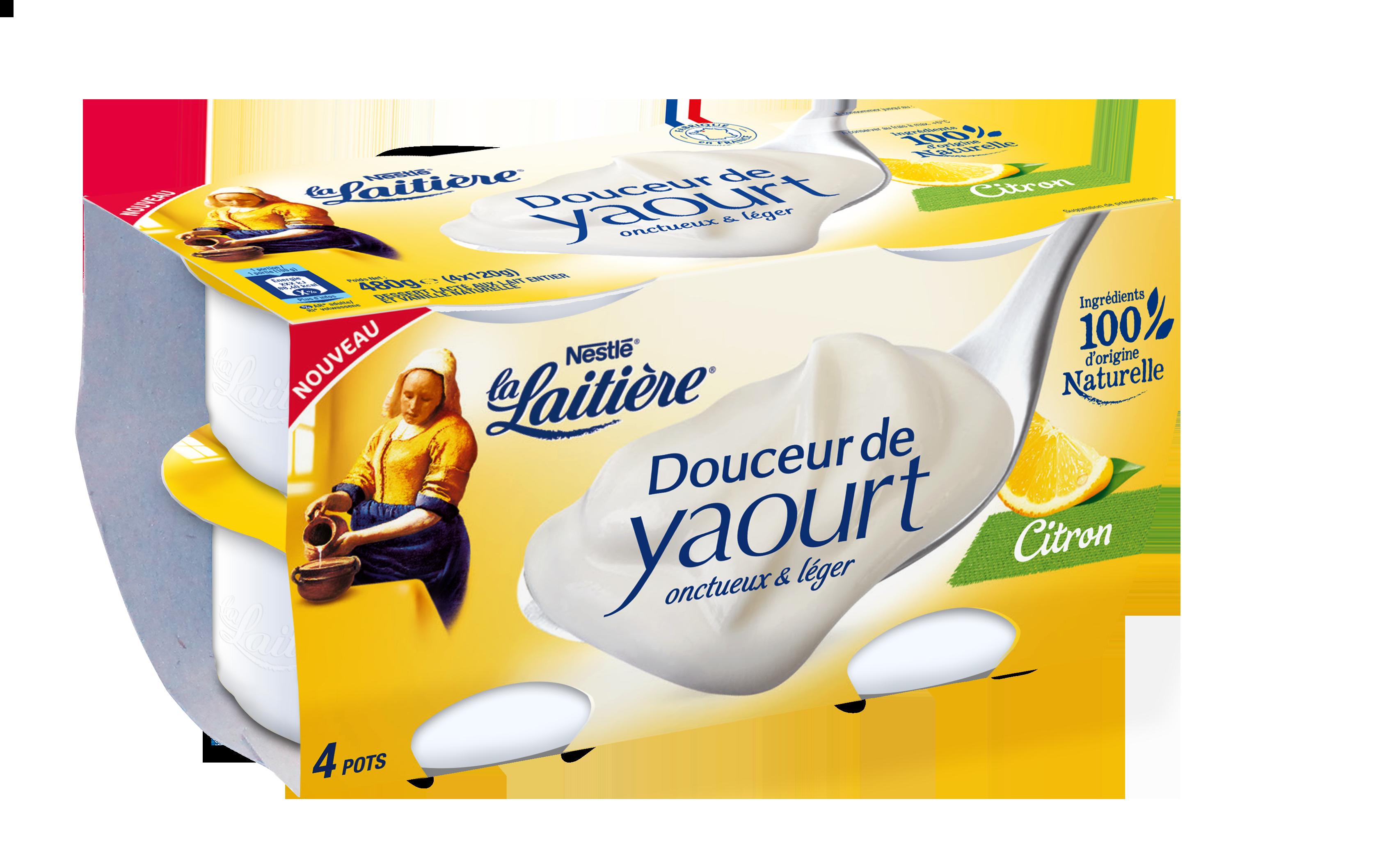 Douceur de Yaourt Citron