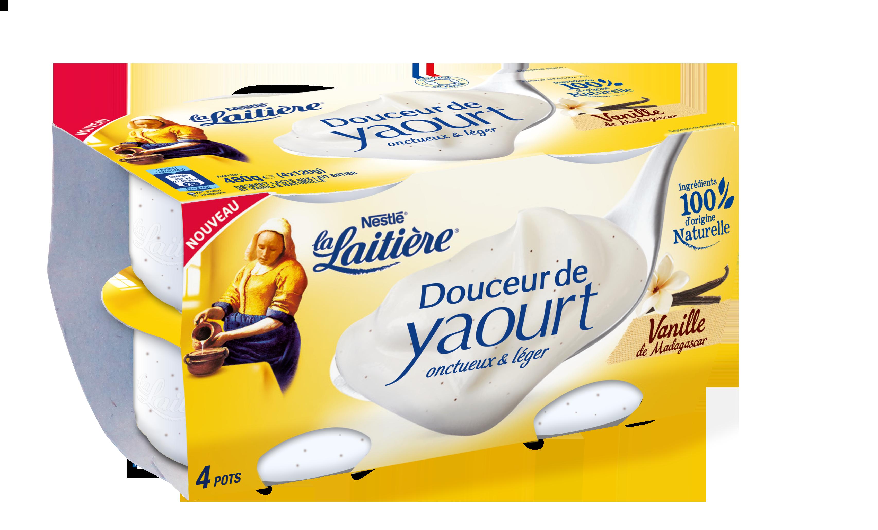 Douceur de Yaourt Vanille