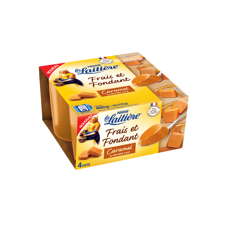 Frais & Fondant Caramel au beurre salé